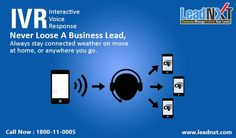 #LeadIVR Features :  #Call Routing, Call #Tracking, Call Forwarding, Call #Transferring, Call #Conferencing, Call Notification, 24*7 #CustomerSupport, Different #Speach #Recognition, Lead Follow Up Notification  See more at:- http://leadnxt.com/ivr-services-provider-company-in-india.html