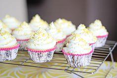 Cake mix and sprite cupcakes