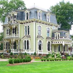 Image detail for -in 1873 by Silas Robbins, this elegantly restored Victorian house ...