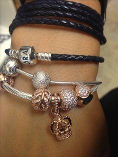 Love this Pandora Jewelry! Only 35 dollars. Last 3 days,get it immediatly! Pandora Beads, Pandora Bracelet Charms, Pandora Jewelry, Charm Jewelry, Rose Jewelry, Jewellery, Charm Bracelets, Pandora Rose Gold, Pandora Collection