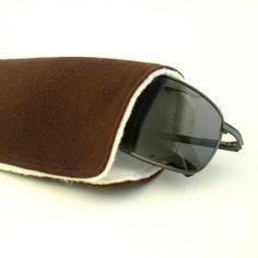 Men's Eye glass Case/Sunglass Holder  Organic Cotton by OrganiLuxe, $12.00
