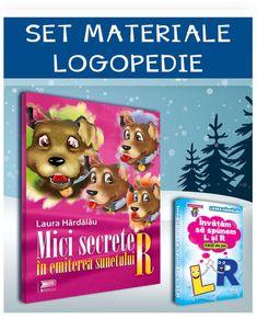 set-mici-secrete-+-invatam-sa-spunem-L-si-R-imagine-produs Cover, Books, Speech Language Therapy, Libros, Book, Book Illustrations, Libri