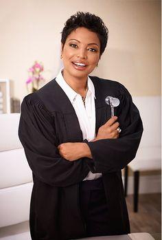 Judge Lynn Toler l Tv Judges, Divorce Court, Court Judge, Beautiful Goddess, Black Women, Short Hair Styles, Celebs, People, Image