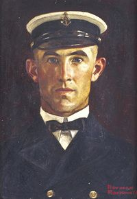 Norman Rockwell, Portrait of Chief Petty Officer LeRoy Evans