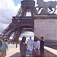 Public witnessing in Paris, France.