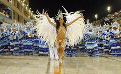Rio Carnival Starting Celebrations