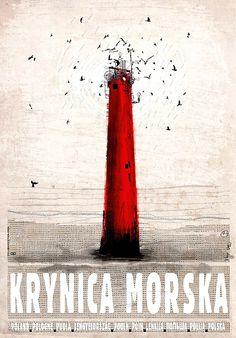 Krynica Morska, Polish Promotion Poster