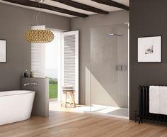 Matki EauZone Plus Wet Room Panel with Tray http://www.matki.co.uk/matki-shower-products/wet-room-panel-tray