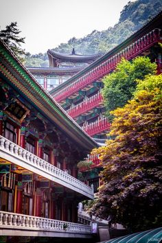단양 구인사와 사람들....그리고 단청 : 네이버 블로그 15th Century, South Korea, Temple, Asia, Exterior, House Styles, Travel, Beautiful, Oriental