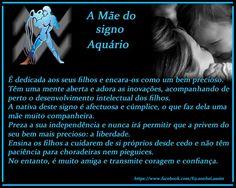 a mãe do signo aquário