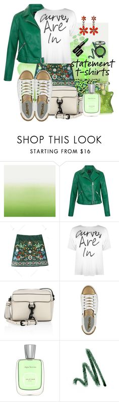 """Spring-Summer 17 (Plus Size Chic)"" by foolsuk ❤ liked on Polyvore featuring Designers Guild, Boohoo, Rebecca Minkoff, Gola and NYX"