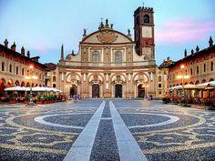 Piazza Ducale in Vigevano