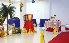 Colombia Party room ideas.