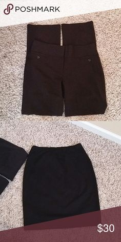 Dress pants Maurice & skirt Style & co. Black office clothing Other