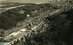 arkiv.dk | Luftfoto af Grejsdalen, Vejle, 1950-52