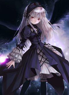 Photo of Gothic Anime Girl for fans of Gothic 27524961 Demon Manga, Manga Anime, Anime Amor, Art Manga, Manga Girl, Anime Angel, Anime Fallen Angel, Anime Fairy, Dark Anime Girl