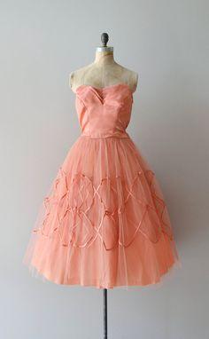 1950s dress / vintage 50s dress / Easy to Love dress