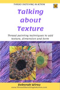 Thread painting techniques to add texture and dimension - Thread Sketching in Action Hand Embroidery Art, Embroidery Thread, Machine Embroidery, Thread Painting, Fabric Painting, Landscape Art Quilts, Paint Your House, Sketches Tutorial, Quilting Thread