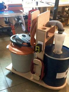 Dust Deputy Cart - by Medickep @ LumberJocks.com ~ woodworking community