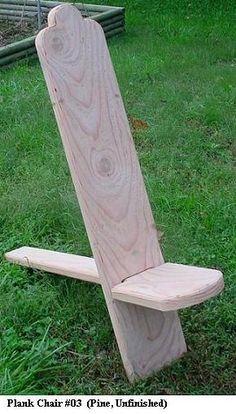 Want to make a plank chair for camping! ähnliche tolle Projekte und Ideen wie im Bild vorgestellt findest du auch in unserem Magazin . Wir freuen uns auf deinen Besuch. Liebe Grüße