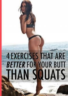 This is the secret to a perfect butt. #fitness #buttworkout