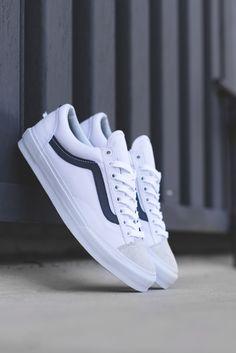 Vans Style 36 Vanguard In Dress Blues  #Vans #Vansguard #Footwear #Sneakers #Fashion #LookBook