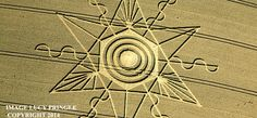 Are Crop Circles Time-Travellers' Forewarnings Of Disasters?
