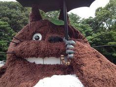 Grandpa makes Totoro for grandkids aftermove
