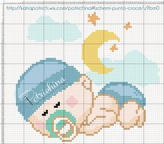 nascita - bimbo - baby - schema punto croce - cross Stitch - Kreuzstich - Punto de Cruz