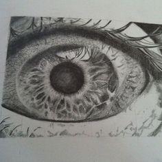 eyeball- graphite pencil