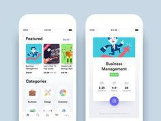 Online Courses App - Home and Course Details by Nimasha Perera - Dribbble Ios App Design, Mobile App Design, Mobile Application Design, Web Design, Mobile Ui, Flat Design, Dashboard Design, Graphic Design, Site Portfolio
