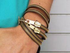 diy zipper jewelry