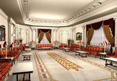Luxurious Arabic Majlis مجلس عربي فخم