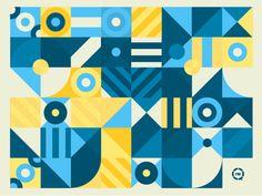 Little RW Pattern geometric pattern geometic triangle bullseye simple minimal square rectangle circle design pattern Geometric Graphic Design, Simple Geometric Pattern, Geometry Pattern, Geometric Circle, Triangle Pattern, Geometric Background, Graphic Design Inspiration, Geometric Shapes, Bauhaus Textiles