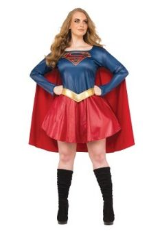 womens plus size supergirl tv costume halloweencostumes halloween coupons deals