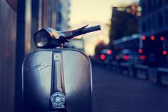 Vespa Sprint in Lugano, Italy.  Photo by marco|g on Flickr.