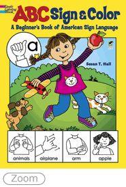 ASL Coloring book