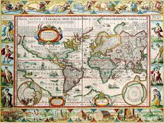 OLD MAPS OF THE WORLD