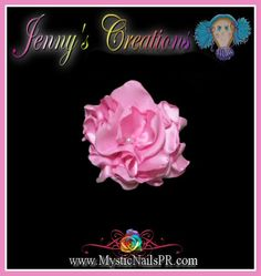Bows ~ Silk flowers bow #baby bows #bows #flowers #silk flower
