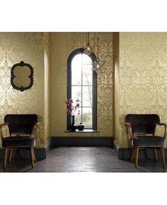 Gorgeous gold wallpaper