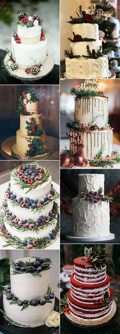 67 Best Winter Wedding Cakes Images Wedding Cakes Beautiful