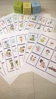 verbs, tenses, grammar, game, Present Simple, Present Continuous, Past Simple. Past Continuous, Present Perfect, actions, sentences