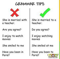Grammar tips . Improve English Writing, English Learning Spoken, Teaching English Grammar, Learn English Words, English Phrases, English Language Learning, English Idioms, Grammar Tips, Essay Writing Skills