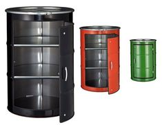 Oil Can Cabinets