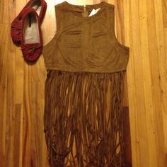Native American Indian inspired fringe suede top Super cute beige tan camel colored top. Bohemian boho Indian princess inspired. Perfect for a Halloween costume for Pocahontas or a Native American costume. This top, war paint & a headwrap is a simple Halloween look . wildcat Tops
