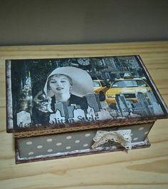 Decoupage M.M. box