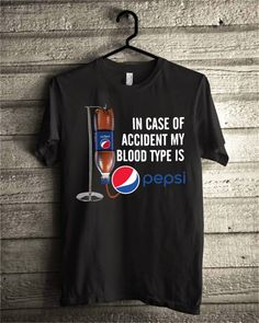 In case of accident my blood type is Pepsi shirt. This is the biggest problem I noticed in cheerleading they assumed that since they were teeny T Shirt And Shorts, Shirt Outfit, Tee Shirts, T Shirt World, T Shirts For Women, Clothes For Women, Direct To Garment Printer, Outfits For Teens, Shirt Style