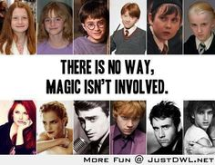Harry Potter: There is no way, Magic isn't involved!