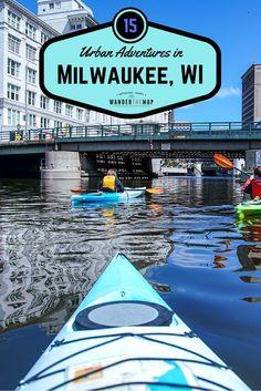 15 Awesome Urban Adventures in Milwaukee via @wanderthemap