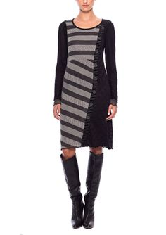 On ideel: DZHAVAEL COUTURE Long Sleeve Printed Dress